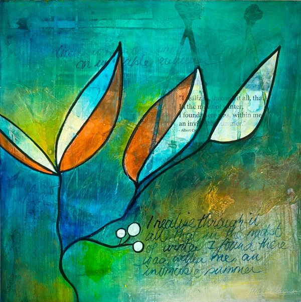 Invincible Summer - a painting by Malini Parker