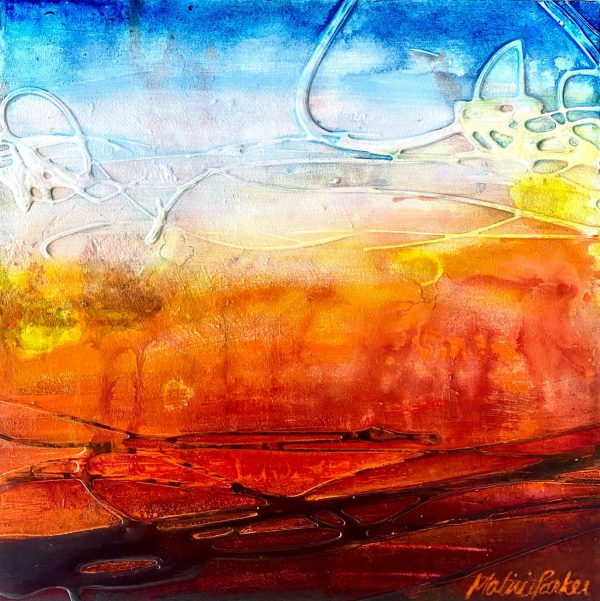 Sunburnt Country - a painting by Malini Parker