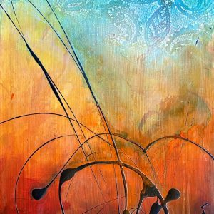 Enkindled - a painting by Malini Parker